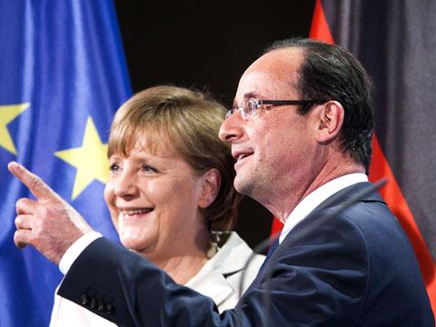 Merkel dhe Hollande optimistë për daljen nga kriza në eurozonë