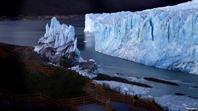 Shkrijnë akullnajat në Ande