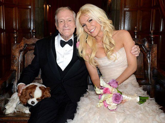 86-vjeçari Hugh Hefner martohet me modelen 26-vjeçare