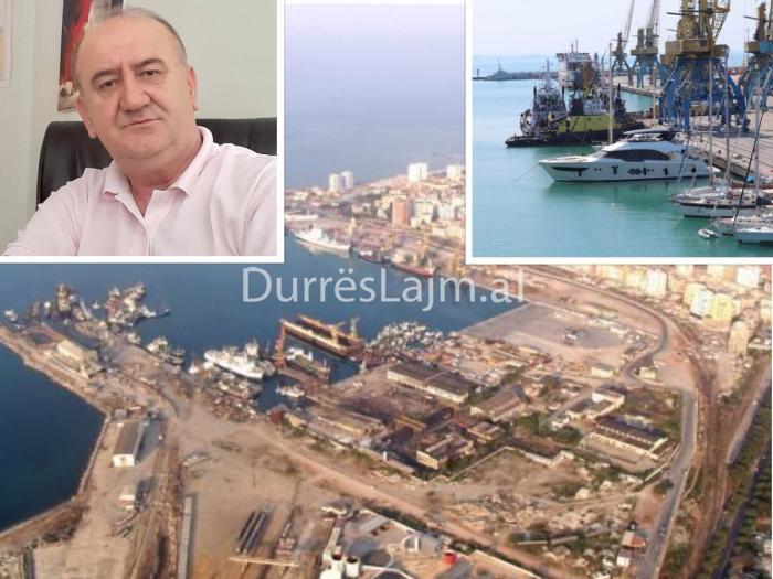 """""""Do ndërtojmë port mbi port!"""" Tahiri: Deputetët e Durrësit dhe elita politike t'i thonë stop kësaj çmendurie"""