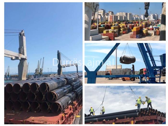 Rriten me 29% volumet tregtare të përpunuara në Portin e Durrësit (VIDEO)