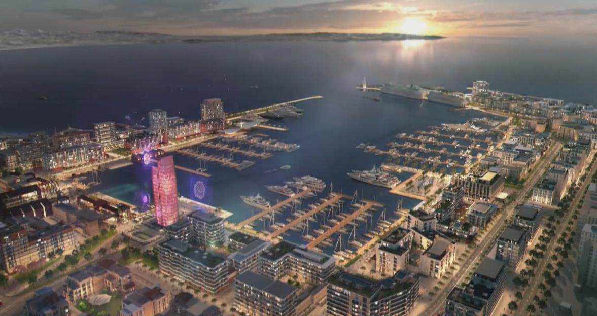 FOTOLAJM/ Projekti 3D i portit turistik të Durrësit, si pritet të transformohet