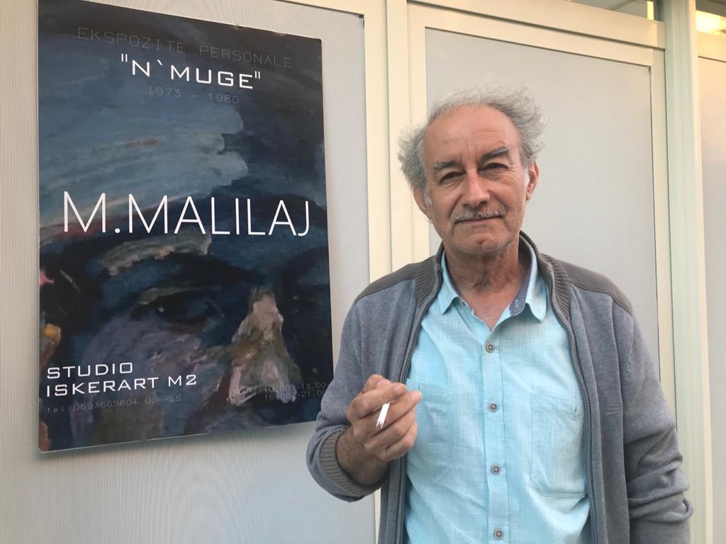 Piktori Muhamed Malilaj, ekspozitë në studio për kolegët dhe miqtë e artit
