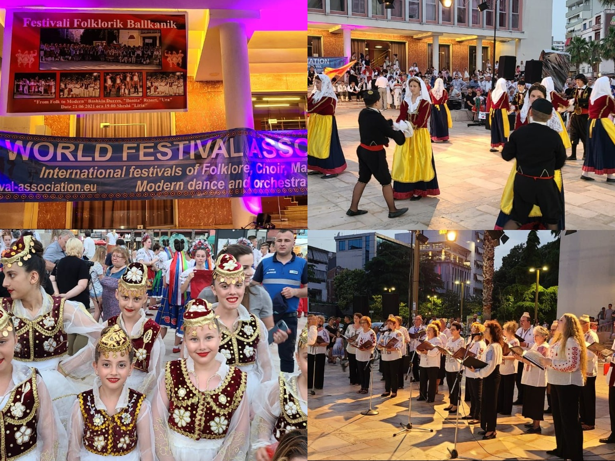 Edicioni i XI i Festivalit Folklorik Ballkanik, këngët dhe vallet popullore zbresin në qendër të Durrësit (FOTO)