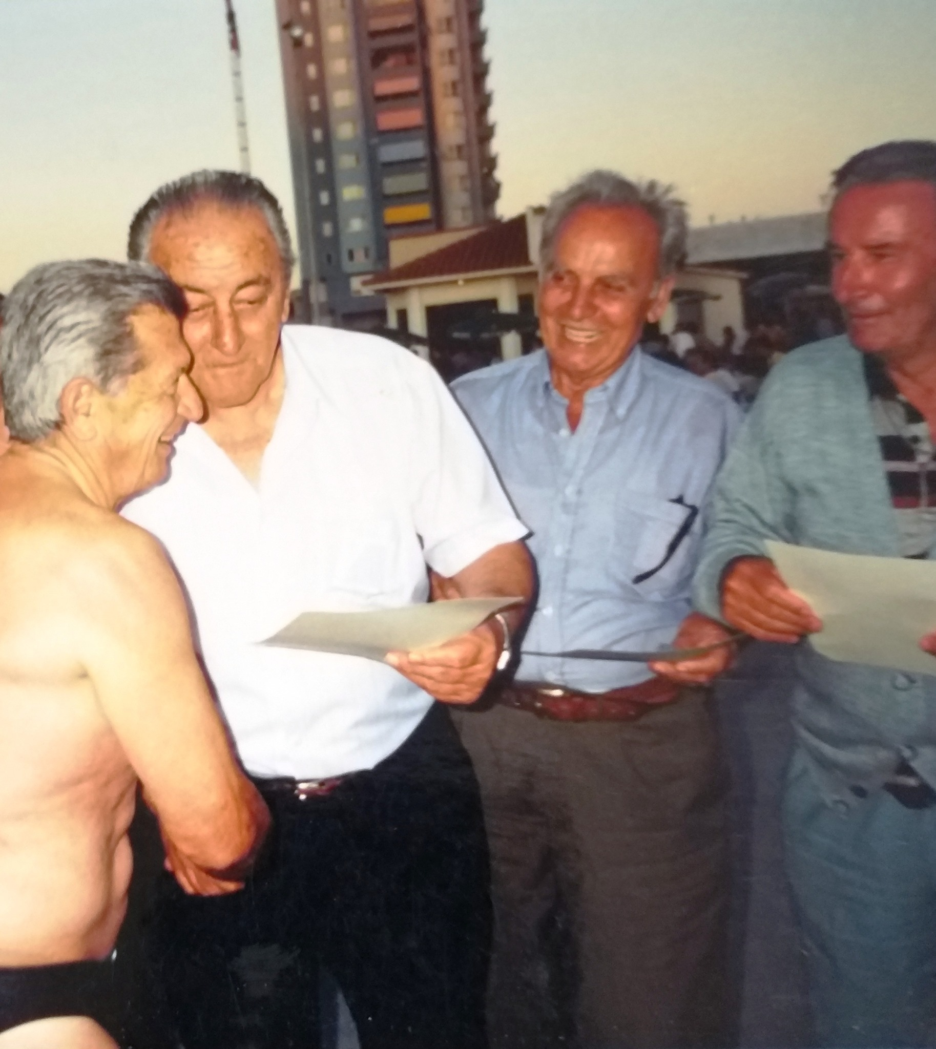Katër burra – Katër histori sportive dhe qytetare të Durrësit