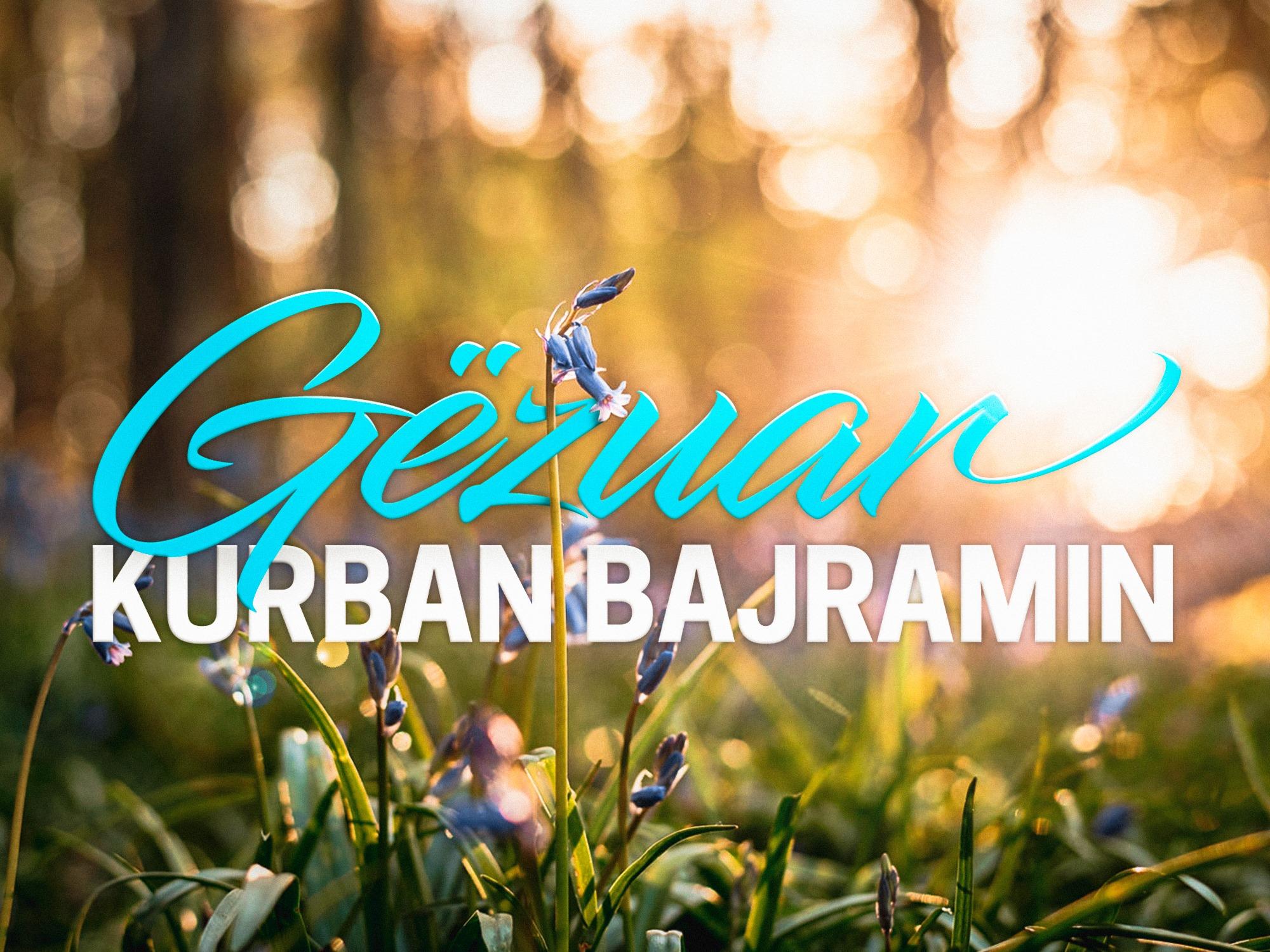 Festa e Kurban Bajramit, Basha uron besimtarët myslimanë: Mbizotëroftë në familjet tuaja gëzimi, paqja dhe shpresa