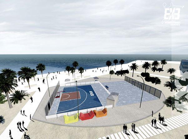 3×3 basketboll në bregdetin e Durrësit