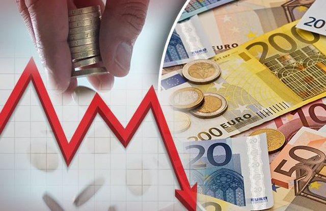 Euro nuk ndal rënien në treg
