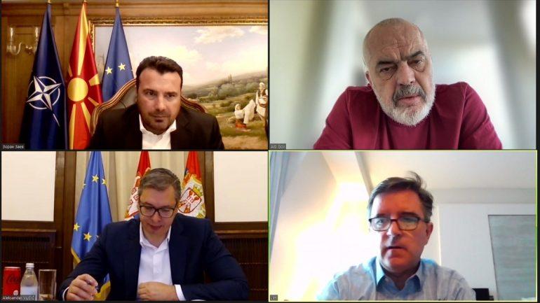 Takimi online me Ramën dhe Vuçiç, Zaev: Ky është Ballkani i ri