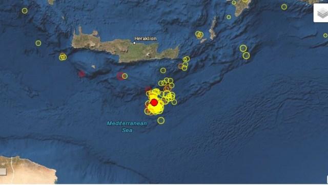 Greqi, dy lëkundje të njëpasnjëshme tërmeti me magnitudë 4.5 Rihter