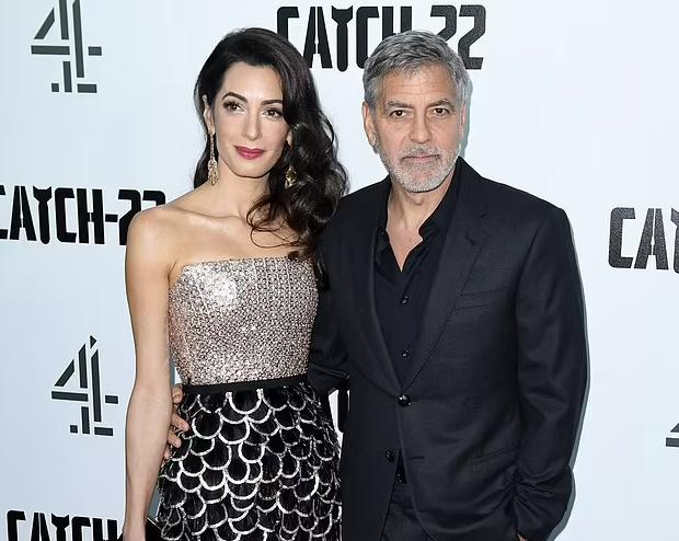 Amal Clooney në pritje të ëmbël, çifti i famshëm pret sërish binjakë