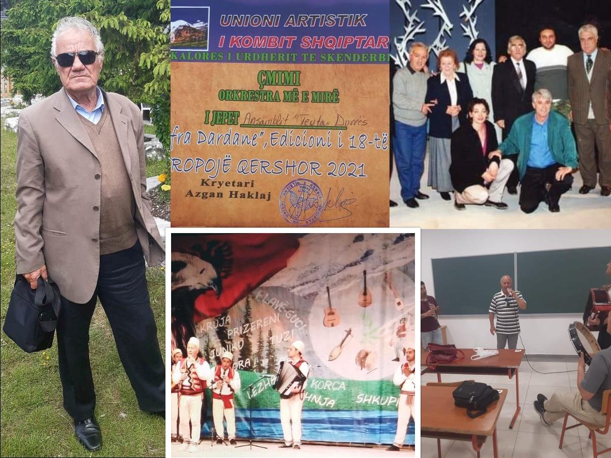 """Ansambli artistik """"Teuta – Durrës"""" mban gjallë folklorin, shembulli organizues dhe frymëzues i Milto Drizës"""