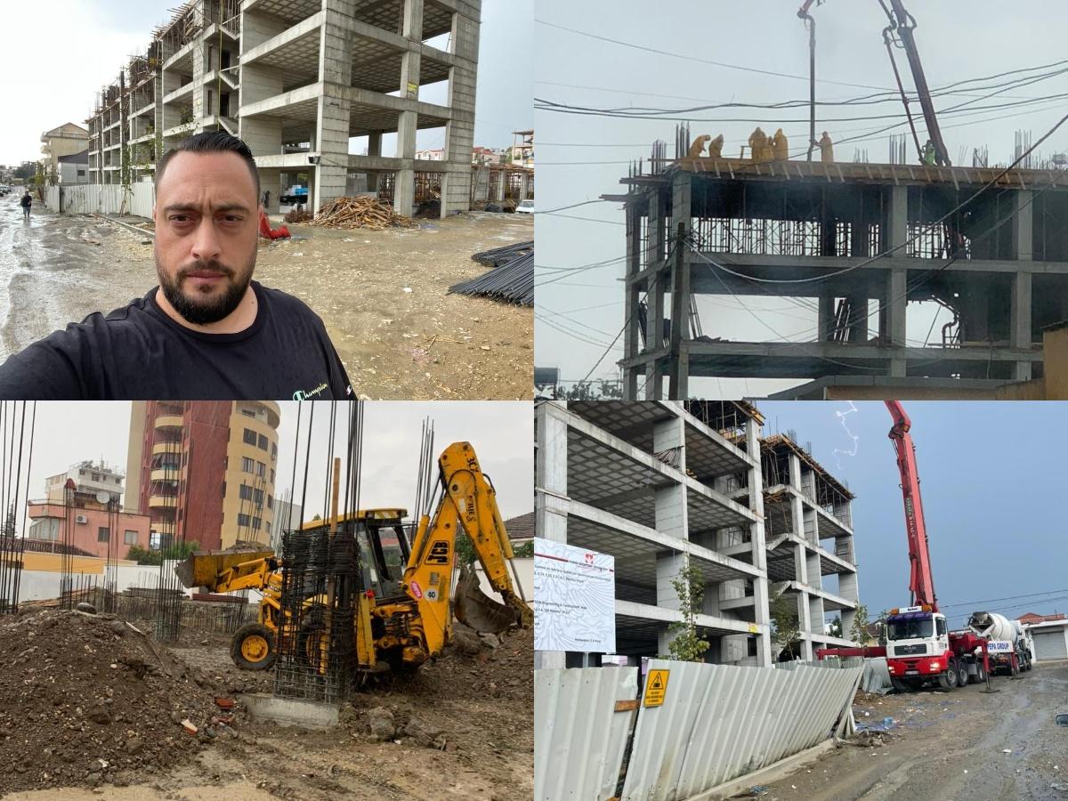 Rindërtimi i pallateve në Shijak, Arbana: Puna vijon edhe të dielën