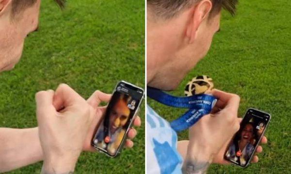 Gjithçka ka një çmim: Messi u pagua për ta publikuar thirrjen në WhatsApp me familje