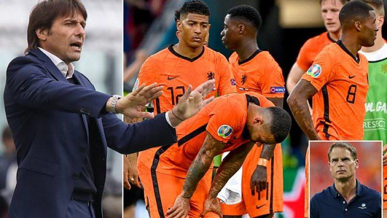 Holanda e do si trajner, Conte e refuzon