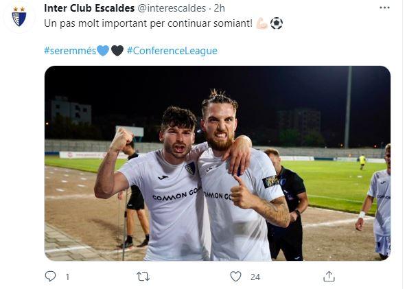 Ja mesazhi i ekipit nga Andorra pas suksesit me Teutën