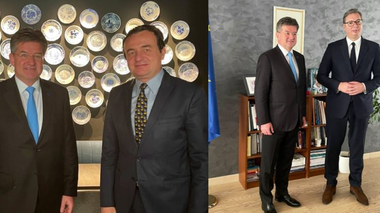 Lajçak: Kurti dhe Vuçiç do të takohen përsëri në shtator