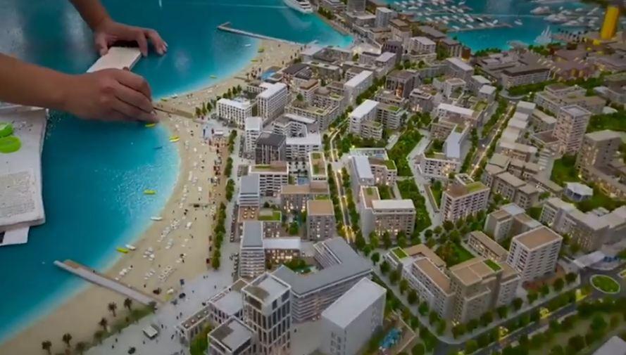 Porti turistik i Durrësit/ Rama publikon maketin e përfunduar në studion urbanistike të Dubait: Së shpejti nis puna