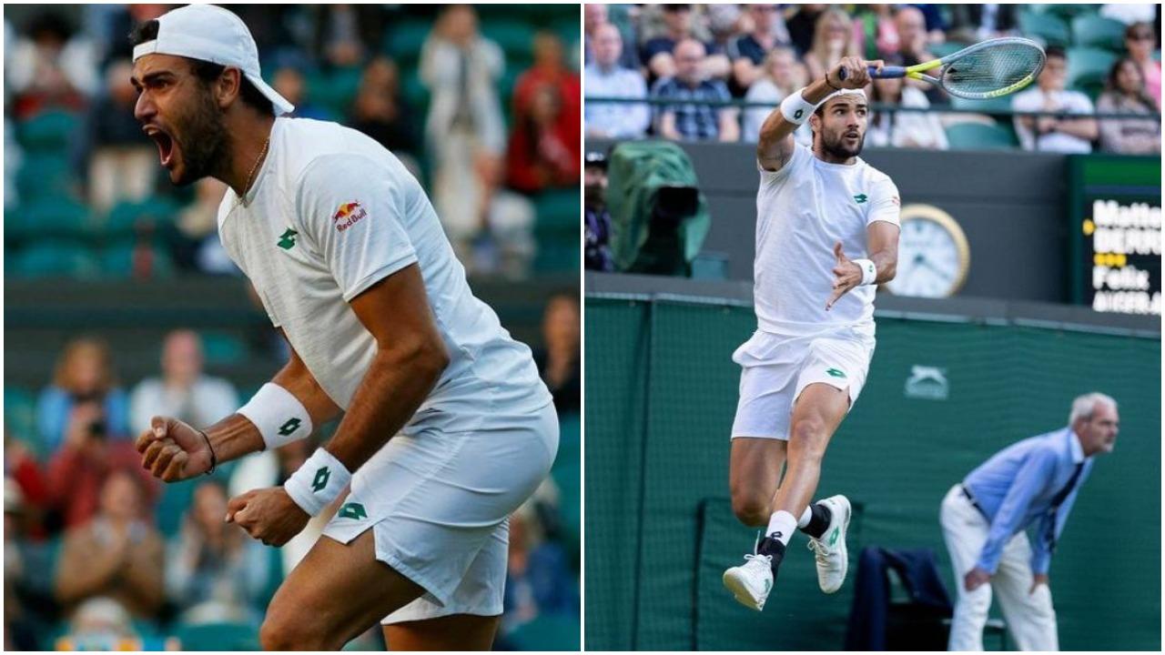 """Tenis/ """"Pa fjalë"""": Berrettini shkruan historinë në Wimbledon, në finale me Djokovic"""