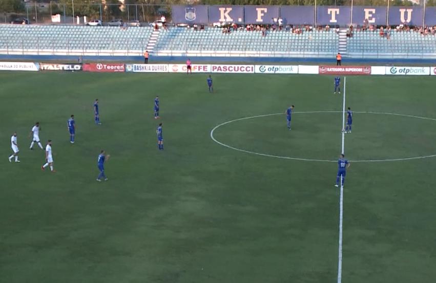 Teuta humb ndeshjen e parë të Conference League