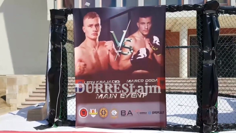 Ndeshje të MMA-së në mes të Durrësit, Presidenti i Federatës: Risi e madhe për sportistët shqiptarë (VIDEO)