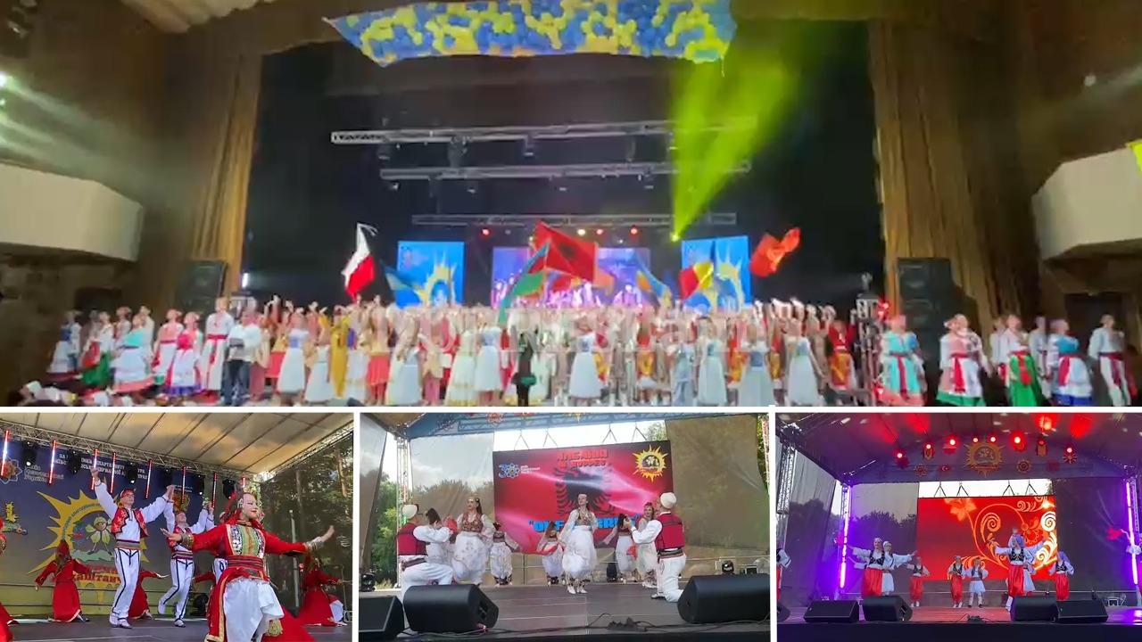 QKF Durrës merr pjesë në Festivalin Ndërkombëtar Folklorik të Valleve në Kiev (VIDEO)