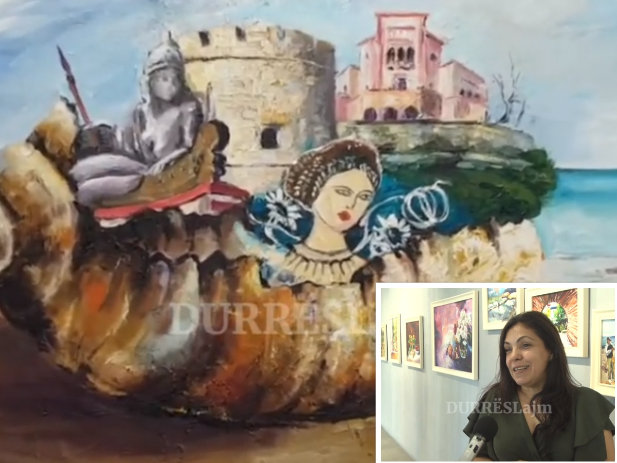 Copëzat e jetës së Shpresa Milaqi Bajkos, piktorja durrsake hap ekspozitën e radhës (VIDEO)