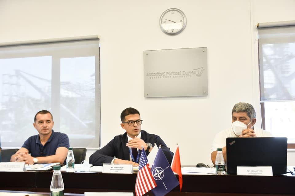 Roja Bregdetare Amerikane inspektim sigurie në portin e Durrësit, vlerësime pozitive për progresin e  bërë