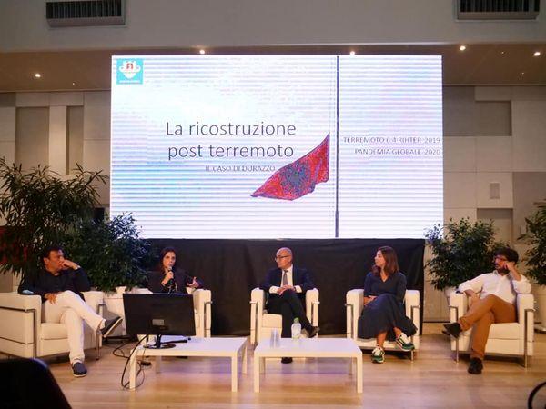 Festivali Ndërkombëtar i Arkitekturës, BiArch 2021 në Itali, Sako: Durrësi po ringrihet edhe më i fortë se më parë