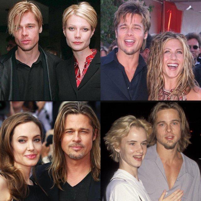Ish-partnerja i jep fund dilemës: Ja pse Brad Pitt ngjante gjithmonë me të dashurat e tij