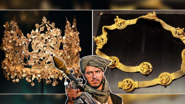 Humb thesari i kohës së Aleksandrit të Madh me vlerë të jashtëzakonshme në Afganistan