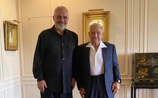 Rama takon George Soros: Mik i çmuar dhe mbështetës i Shoqërisë së Hapur