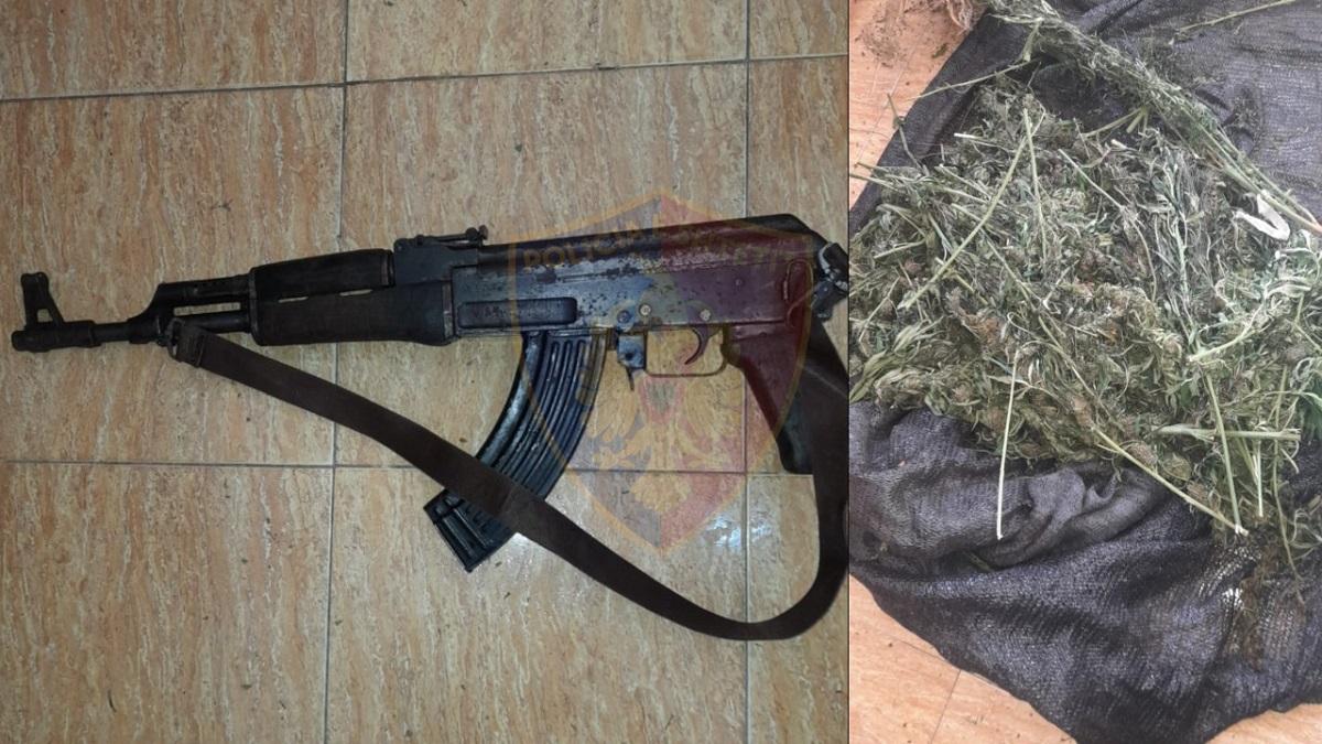 Policia gjen armë dhe drogë, në pranga 5 persona