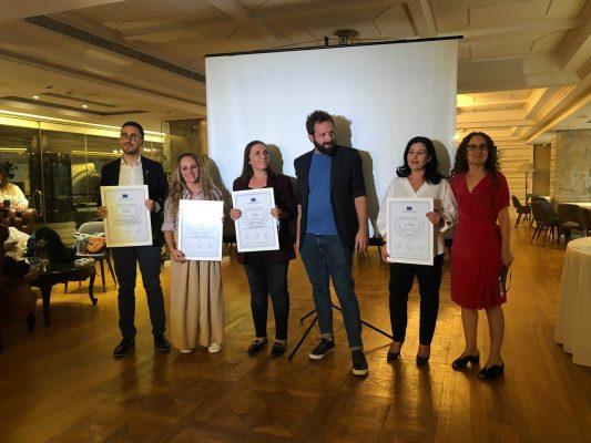 Gazetari nga Durrësi, Geri Emiri, fiton çmimin e dytë për gazetari investigative me shkrimet për tërmetin