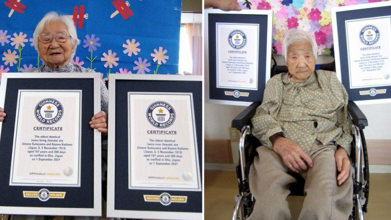 Dy motrat binjake japoneze fitojnë rekordin Guinnes për moshën e tyre