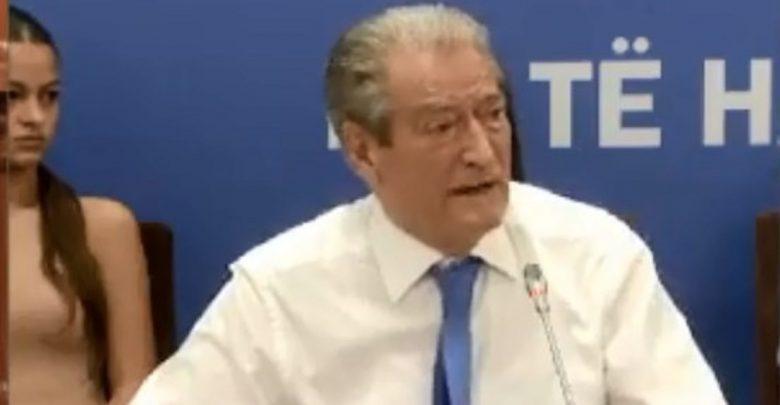 Nis takimi me demokratët, Berisha: Edi Rama, një gangster që nuk njeh as normë, as ligj