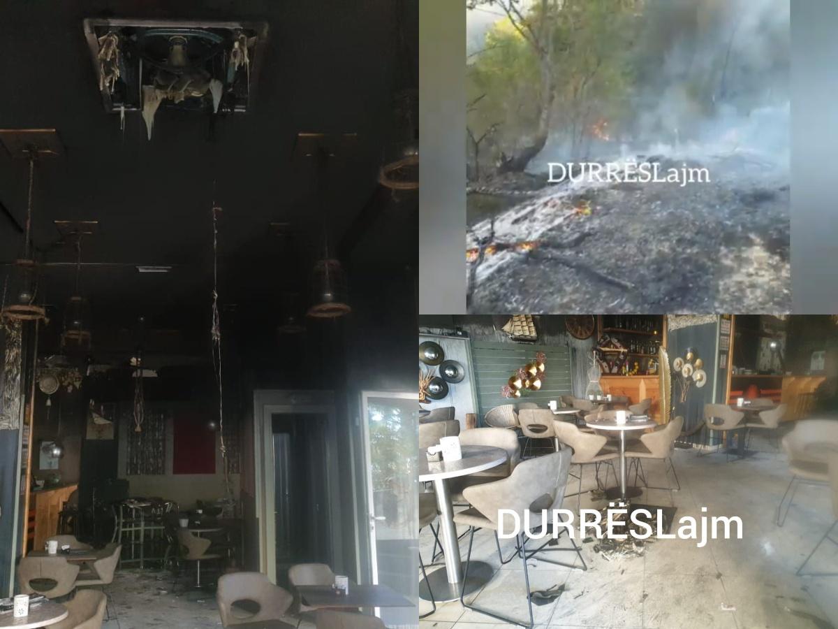 Dita e zjarreve në Durrës, si u shkrumbuan lokale e sipërfaqe toke (FOTO & VIDEO)