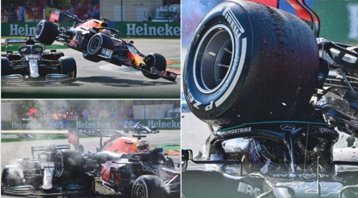Duel i frikshëm në Formula 1, momenti kur Hamilton përfundon nën rrotat e Max Verstappen (VIDEO)