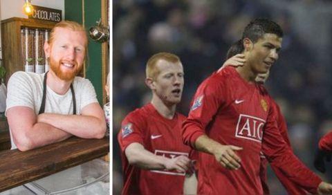 Në 2009 stërvitej me Ronaldon, sot shet qumësht