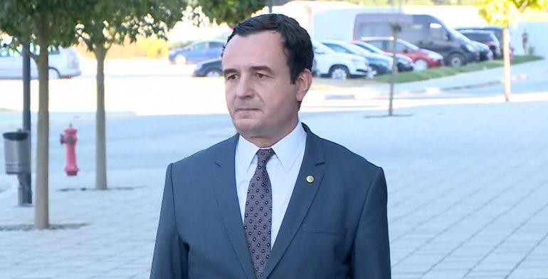 """Kurti: Bëjnë gabim ata që ushtrojnë trysni mbi Kosovën. """"Open Balkan"""" na largon me Shqipërinë"""