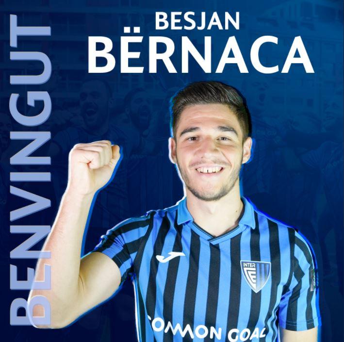 Një talent te kampionët e Andorrës, 19-vjeçari shqiptar firmos me skuadrën që sfidoi Teutën në Ligën e Konferencës