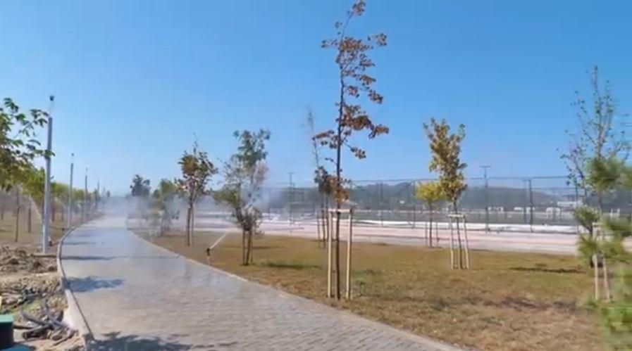 VIDEO/ Rama: Vendi ku xhiroheshin kronikat më të zeza në Durrës, po merr formën përfundimtare të një oazi të ri rekreativ