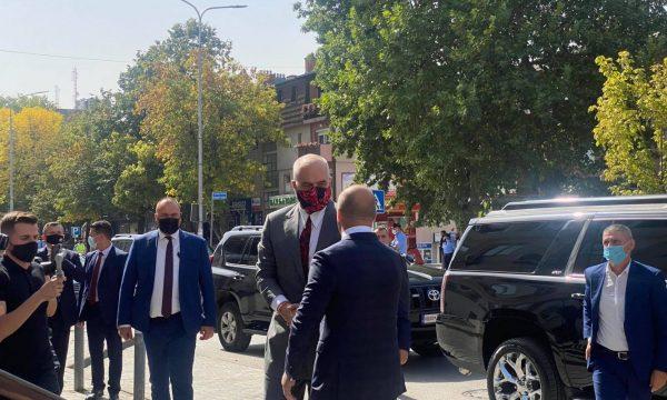 Vizita në Kosovë, Rama takohet me Ramush Haradinajn