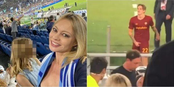 Skandali! Prezantuesja e njohur nxjerr pamjet e turpshme, Zaniolo bën e veprimin e pahijshëm ndaj tifozëve të Lazios (VIDEO)