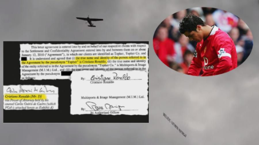 """""""Unë i besoj Ketrin Majorgas"""", aeroplani që i prishi festën Kristiano Ronaldos"""