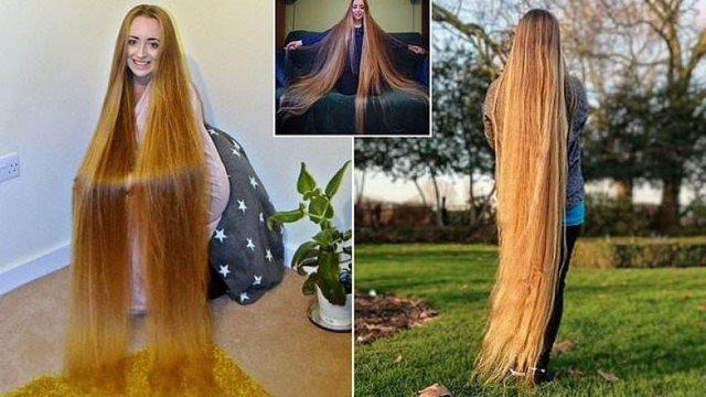 E reja nga Rusia ka 23 vite që nuk pret flokët