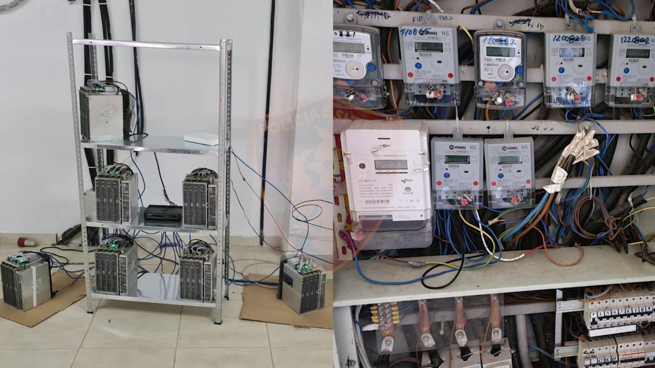 Zbulohet dhe sekuestrohet laboratori që shërbente për prodhimin e kriptomonedhave