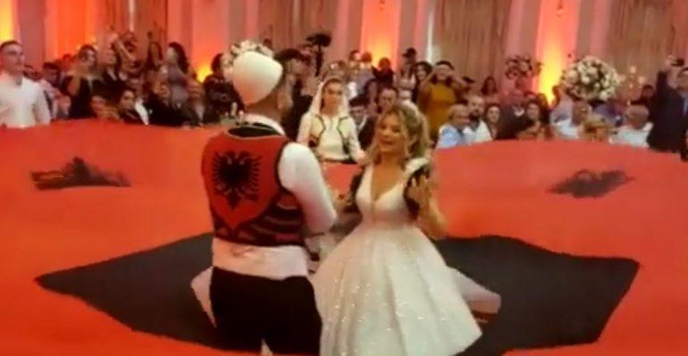 Meta u uron ndjekësve fundjavë të mbarë përmes videos nga dasma e një familje patriotike