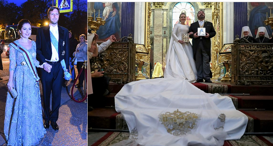 Princi shqiptar Leka në martesën e parë mbretërore pas një shekulli në Rusi